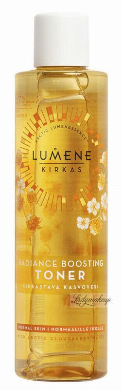 LUMENE - KIRKAS - Radiance Boosting Cleansing Toner - Rozświetlający tonik do twarzy - 200 ml