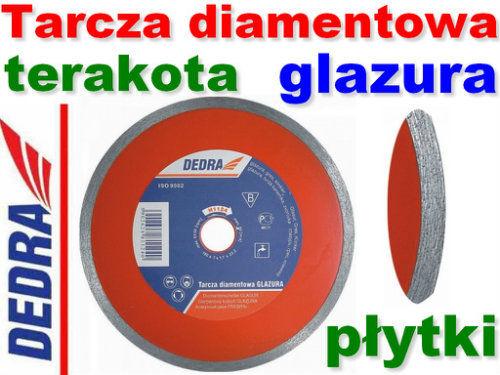Tarcza diamentowa ciągła do cięcia płytek glazurniczych 200x25,4mm DEDRA H1123E