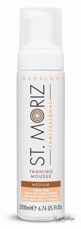 ST. MORIZ - Tanning Mousse - Samoopalający mus do ciała - Medium - 200 ml