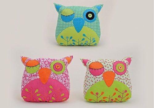 Poduszka sowa sówka z uszami owl