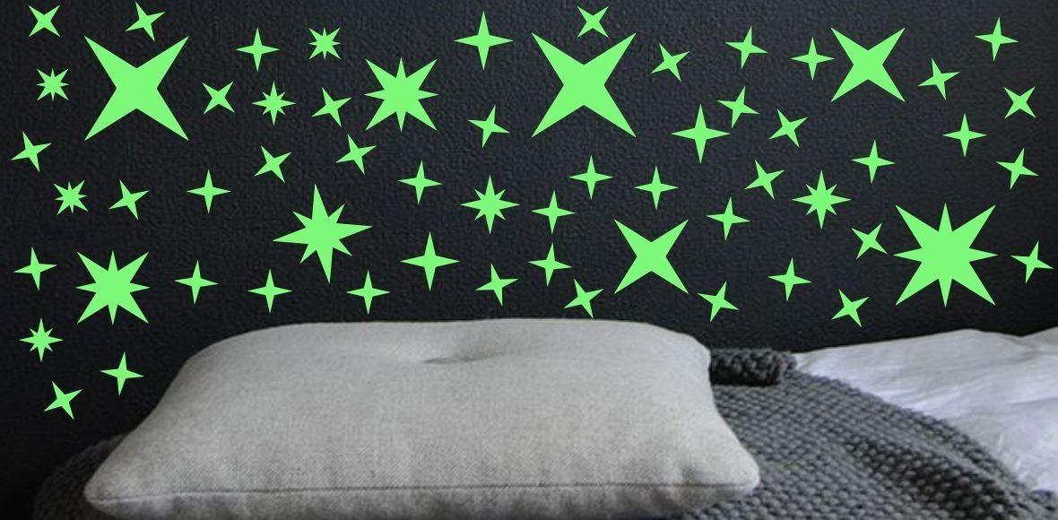 Naklejka świecąca w nocy gwiazdy