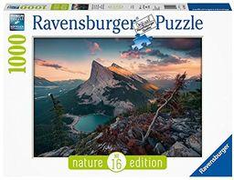 Ravensburger Puzzle 15011 - Wieczór w górach Rocky - 1000 części