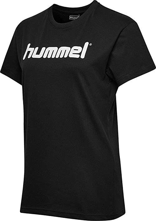 Hummel HMLGO COTTON LOGO S/S T-shirty, czarne, 2XL