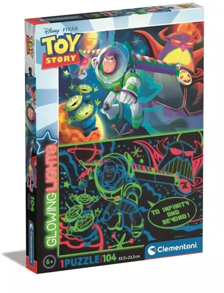 Puzzle Glowing 104 Toy story 27549 - Clementoni