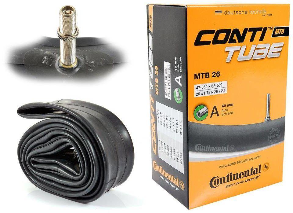 "Dętka Continental MTB 26"" x 1,75"" - 2,5"" wentyl auto 40 mm"