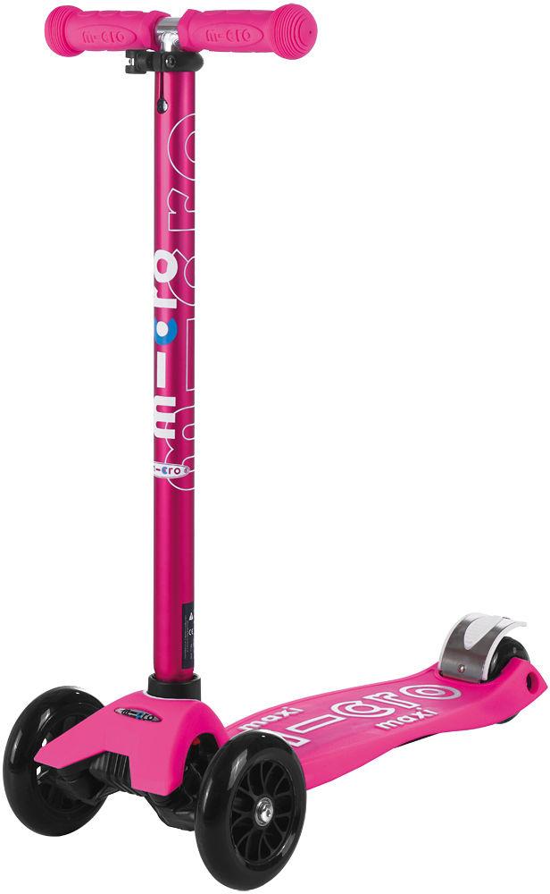 Hulajnoga Micro Maxi Deluxe Shocking Pink MMD035