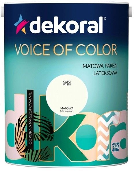 Farba Dekoral Voice of Color kwiat wiśni 2,5 l