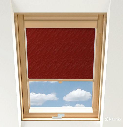 Roleta do okien dachowych - AQUA - Cherry / Sosna