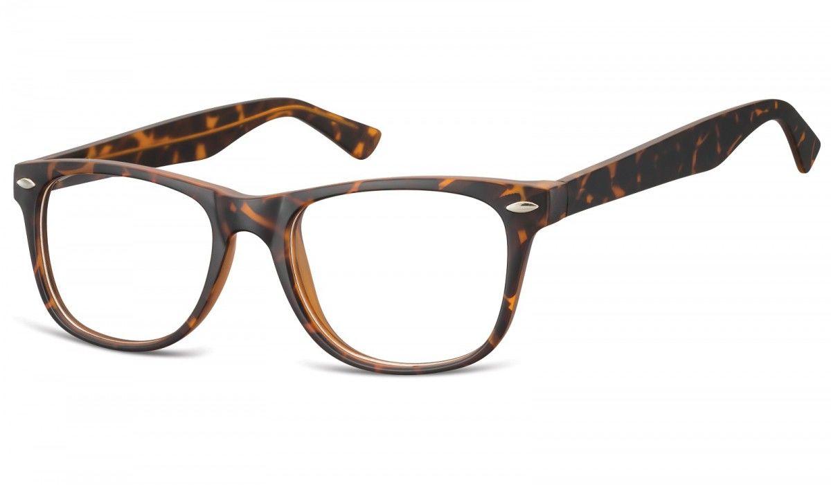 Okulary oprawki korekcyjne Nerdy zerówki Sunoptic CP134B