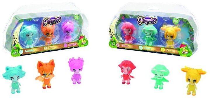 Glimmies 3 Figurki, różne rodzaje - Cobi