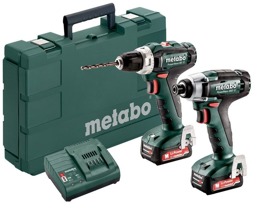 Zestaw combo Metabo PowerMaxx BS 12 + PowerMaxx SSD 12 685166000