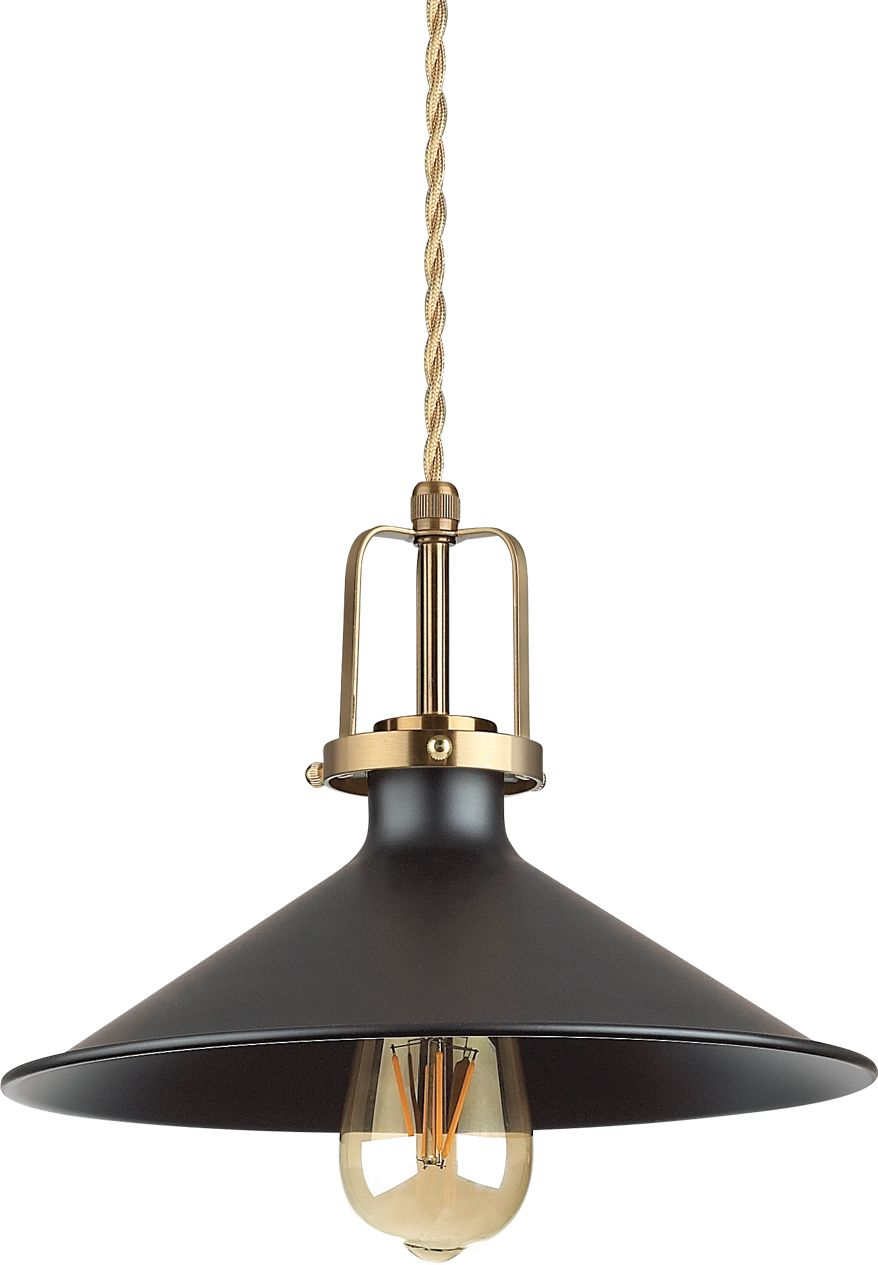 Lampa wisząca Eris 249070 Ideal Lux klasyczna oprawa w kolorze czarnym
