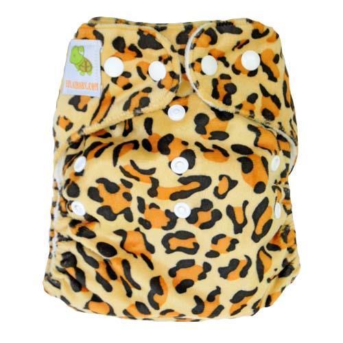 pieluszka wielorazowa MINKY gepard