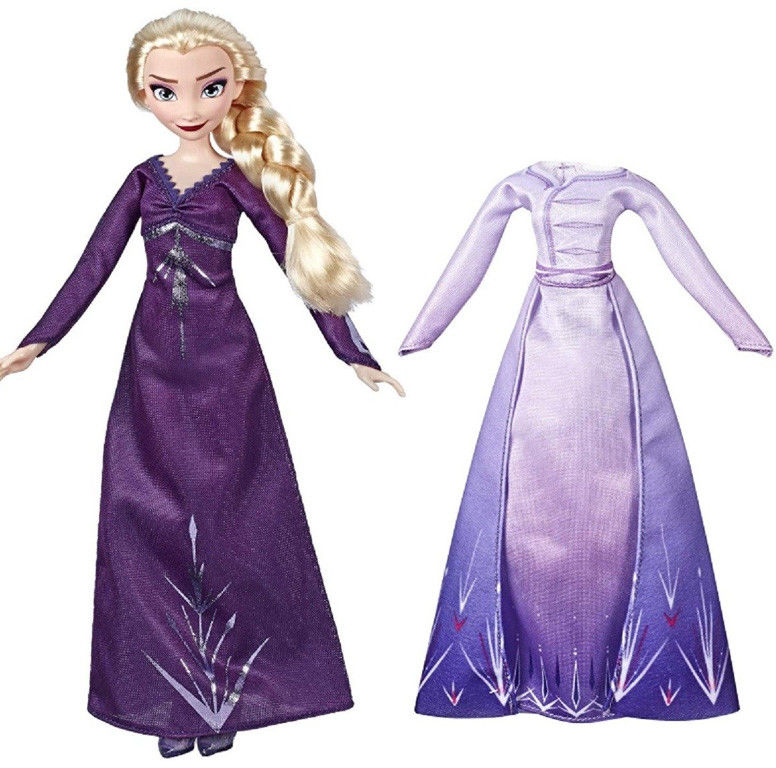 Hasbro Disney Frozen Kraina Lodu II Lalka Elsa z dodatkowym ubrankiem E6907 E5500
