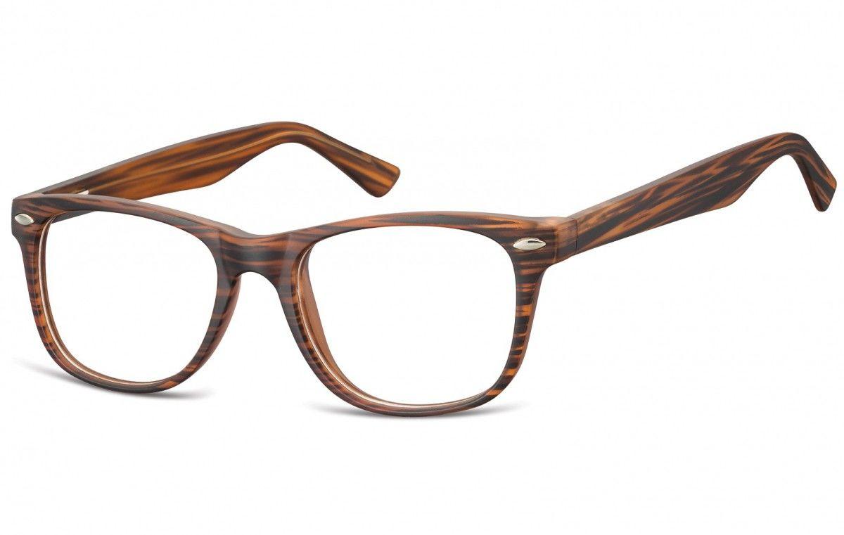 Okulary oprawki korekcyjne Nerdy zerówki Sunoptic CP134G