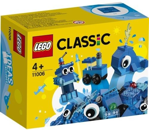 LEGO Classic - Niebieskie klocki kreatywne 11006