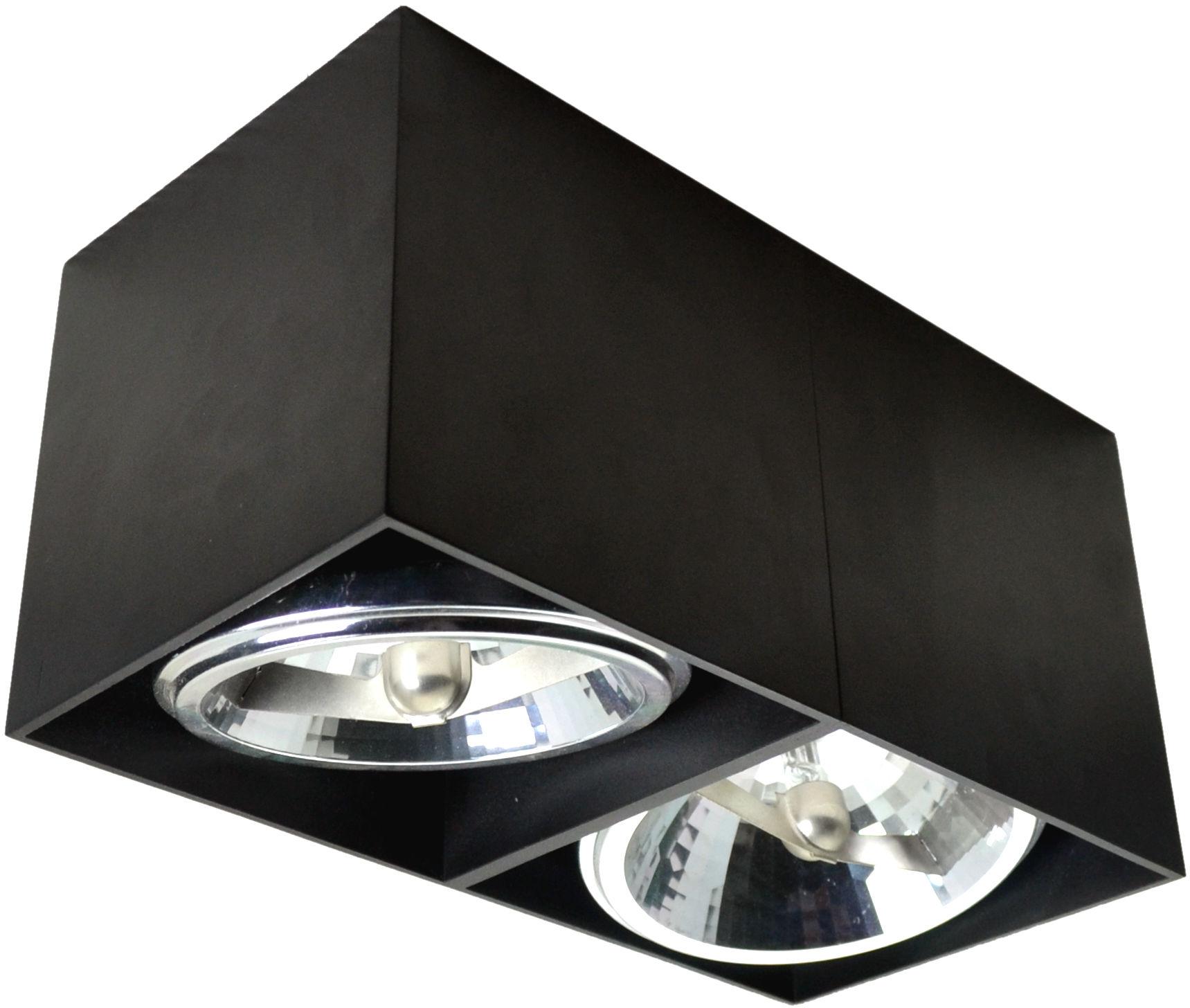 Lampa sufitowa SPOT BOX 90433-G9 CZARNA Zuma Line  SPRAWDŹ RABATY  5-10-15-20 % w koszyku