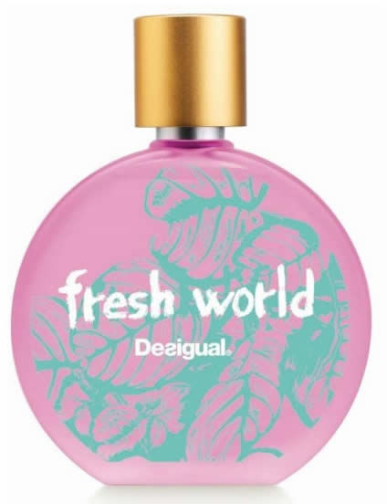woda toaletowa EDT Spray Desigual Fresh World Woman 50ml