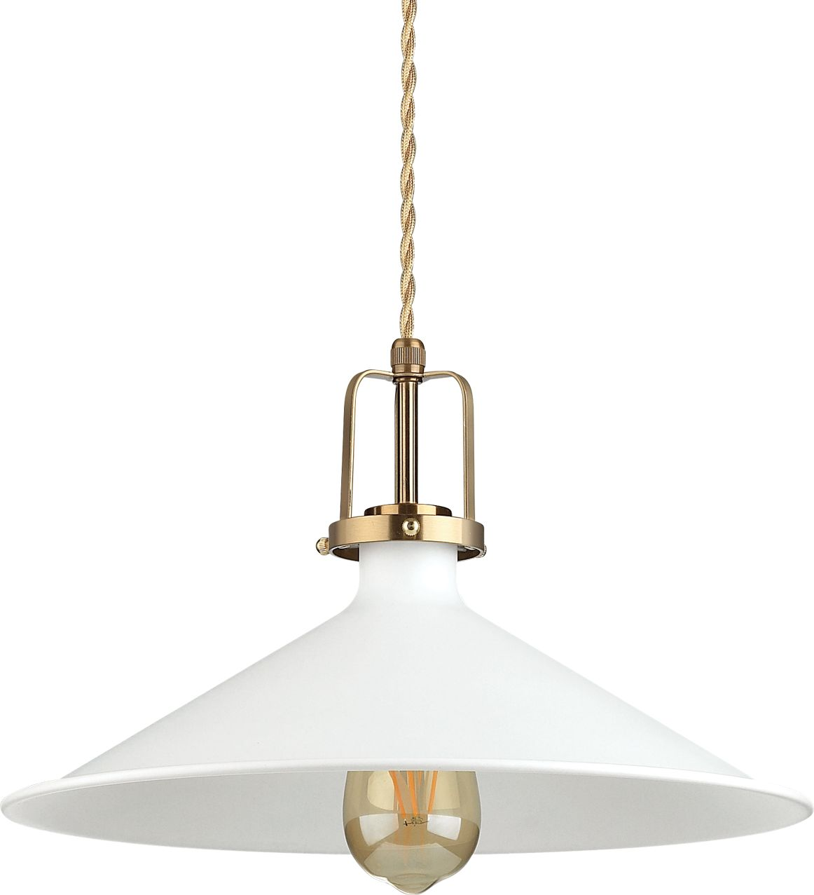 Lampa wisząca Eris 238210 Ideal Lux klasyczna oprawa w kolorze białym