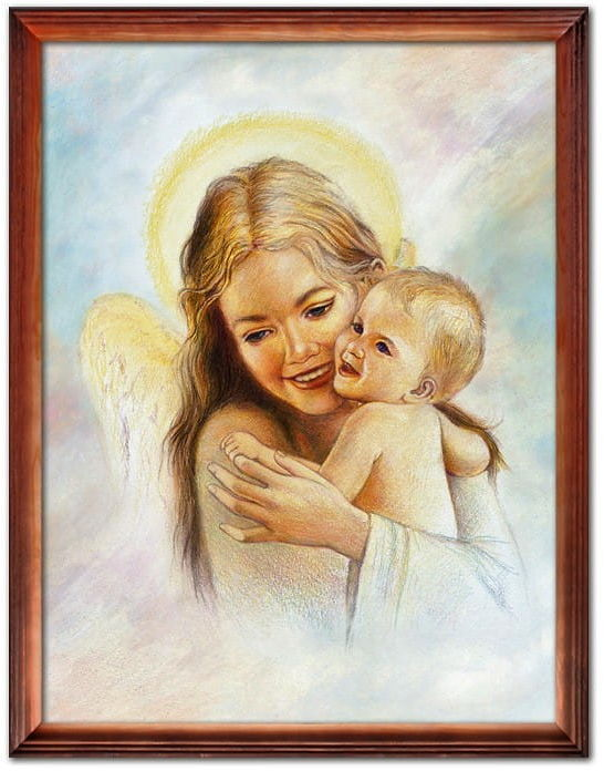 Anioł Stróż obraz religijny