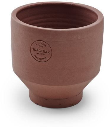 Skagerak EDGE POT Doniczka z Terakoty 13 cm - Burned Red