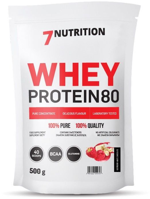 7 Nutrition Whey Protein 80 500g