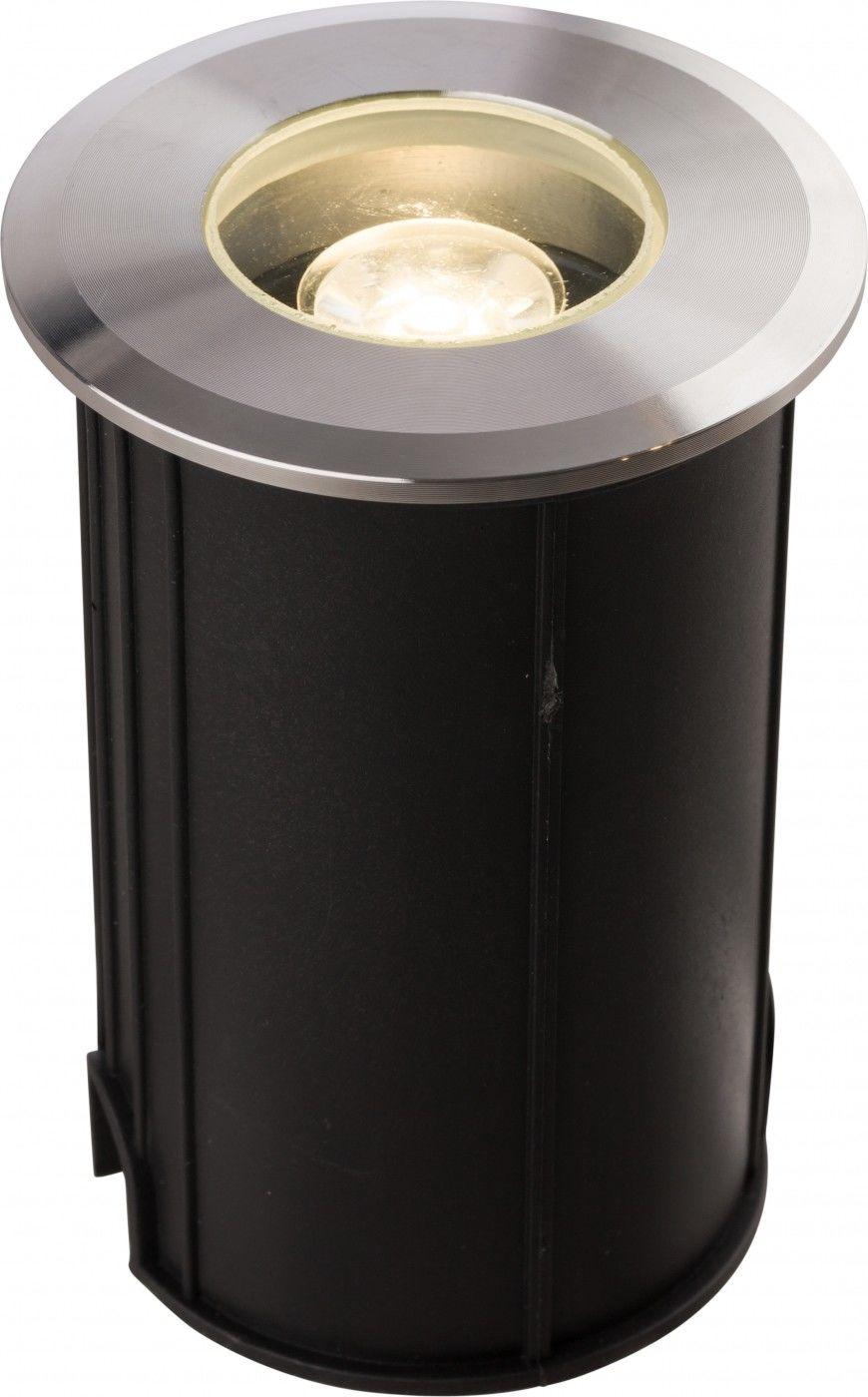 Oprawa najazdowa Picco LED M 9105 Nowodvorski Lighting okrągła oprawa w kolorze srebrnym