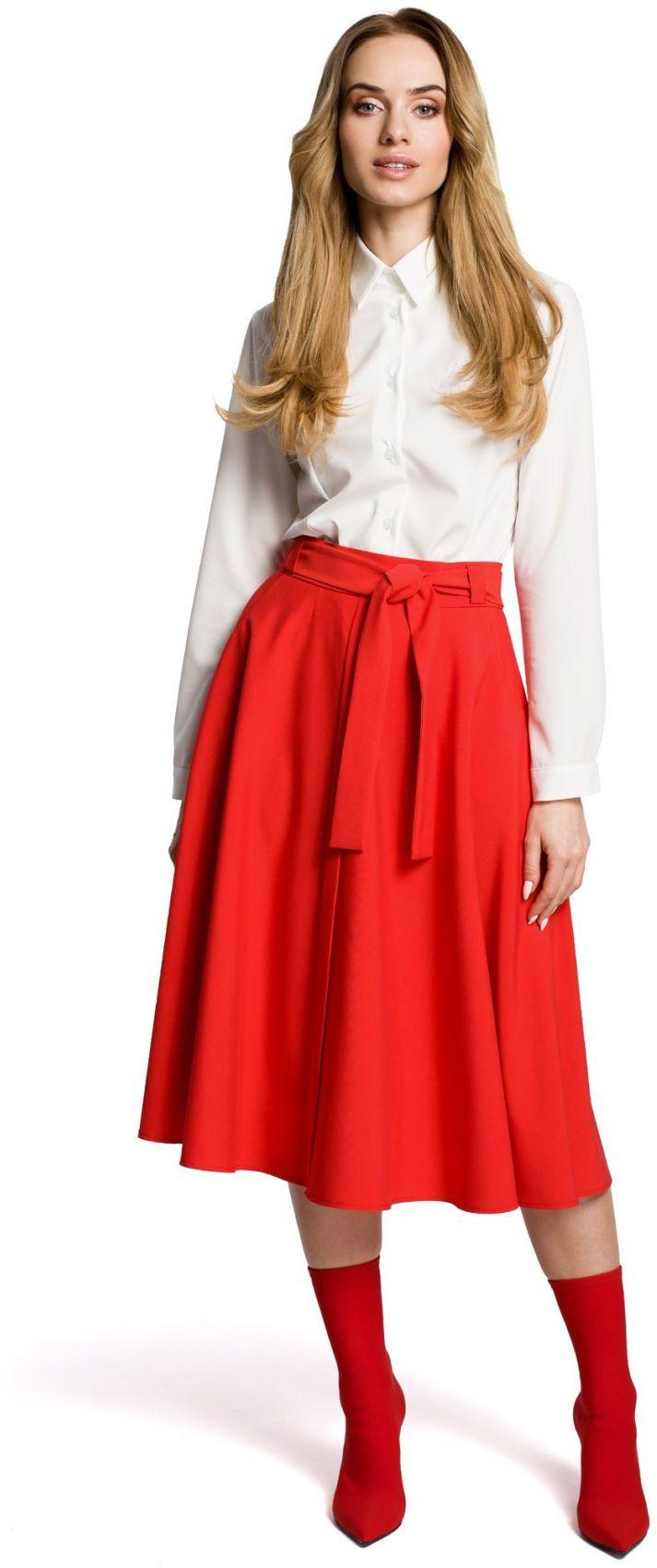 M367 Spódnica czerwona