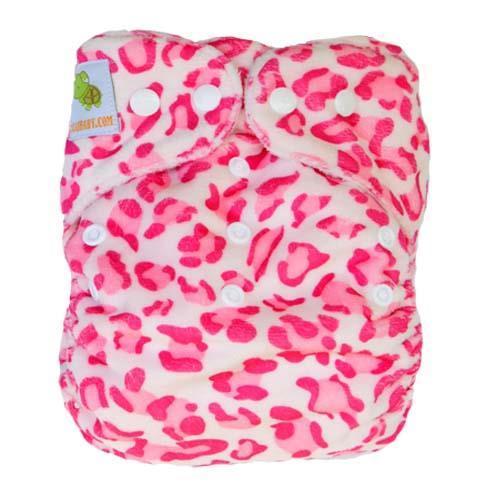pieluszka wielorazowa MINKY różowa pantera