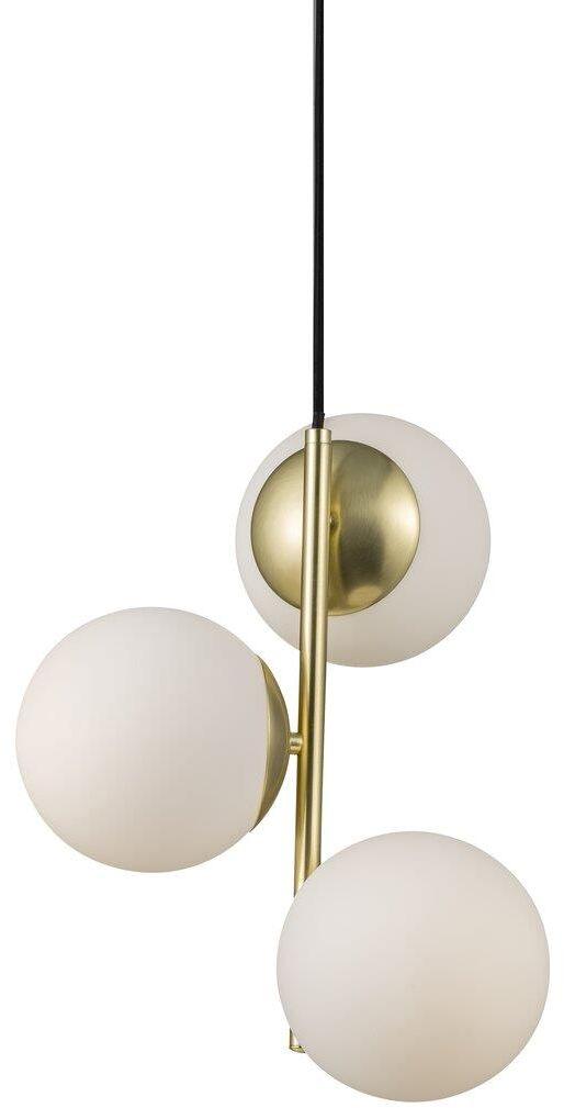 Lampa wisząca Lilly 48603035 Nordlux dekoracyjna oprawa w kolorze mosiądzu