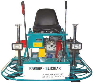 Zacieraczka samojezdna KREBER K-750-2-TMM BLIŹNIAK Honda