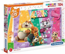 Clementoni 27288 104 szt. puzzle - 44 koty, wielokolorowe
