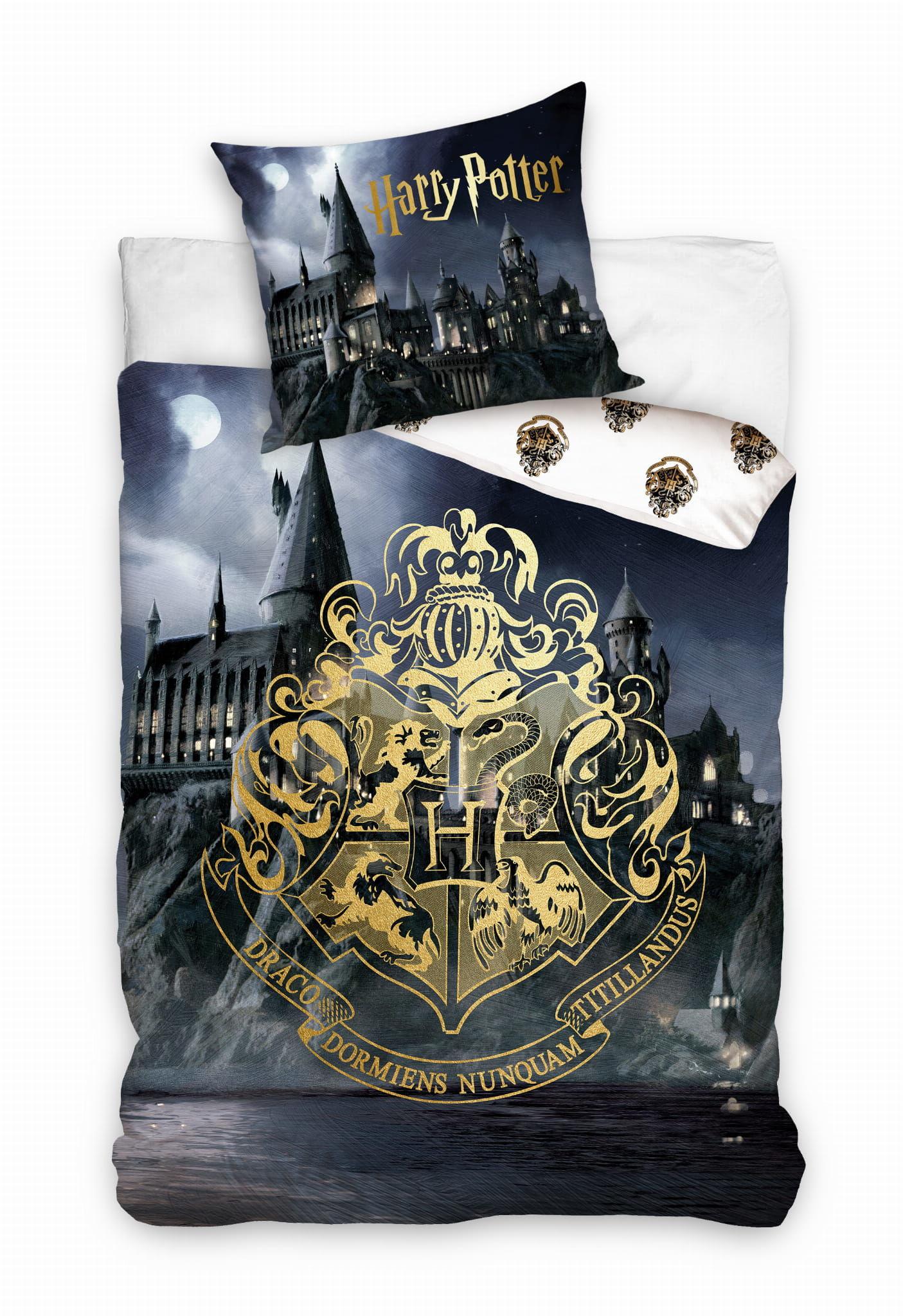 Pościel Harry Potter 135x200 licencyjna bawełniana Hogwarth