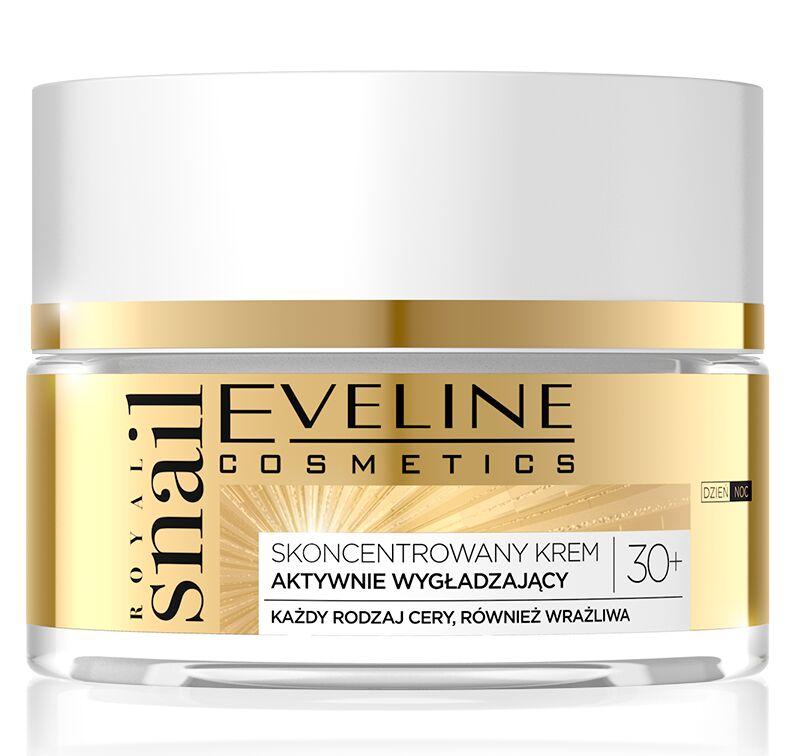 Eveline Cosmetics - ROYAL SNAIL 30+ Krem do twarzy aktywnie wygładzający