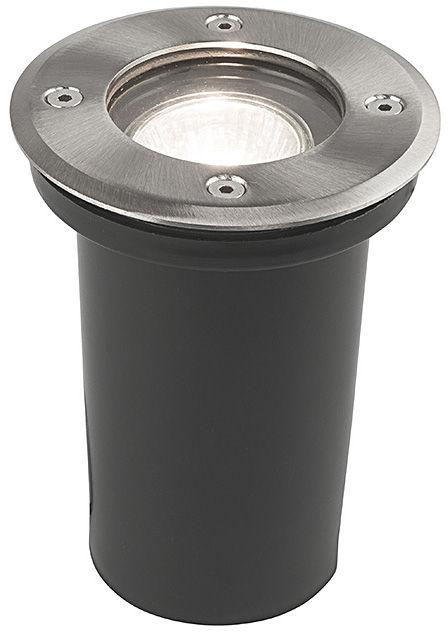 Oprawa najazdowa Paoli 9554 Nowodvorski Lighting okrągła oprawa w kolorze srebrnym