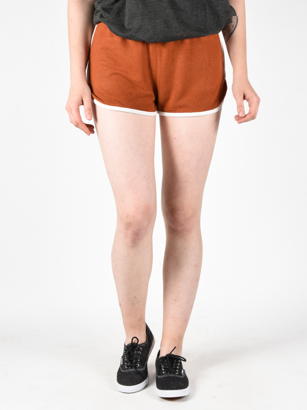 RVCA THE FUZZ Ginger panie sweat shorts - L