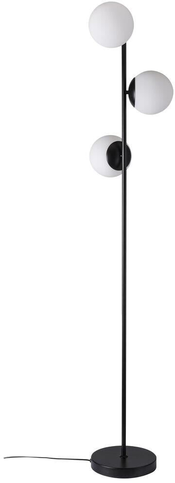 Lampa podłogowa Lilly 48613003 Nordlux czarno-biała oprawa w dekoracyjnym stylu