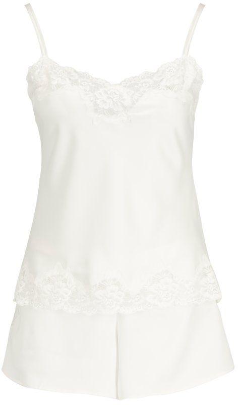 Lauren Ralph Lauren Piżama ILN11684 Biały