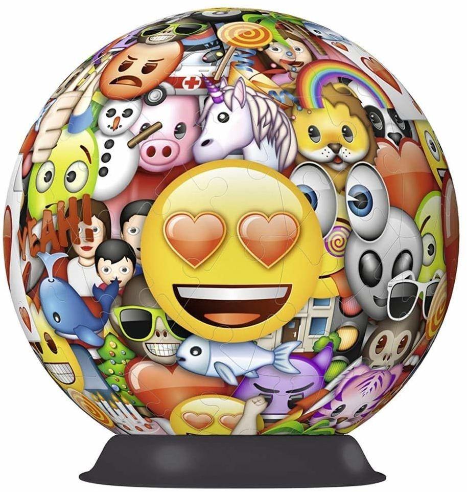 Ravensburger 12198 Emoji 72 sztuki puzzle 3D