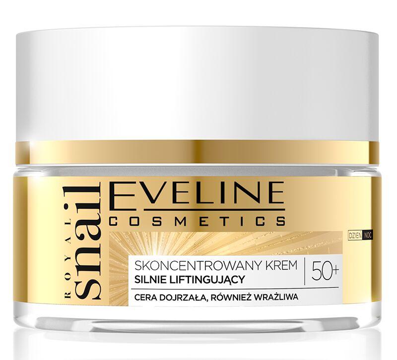 Eveline Cosmetics - ROYAL SNAIL 50+ Krem do twarzy silnie liftingujący