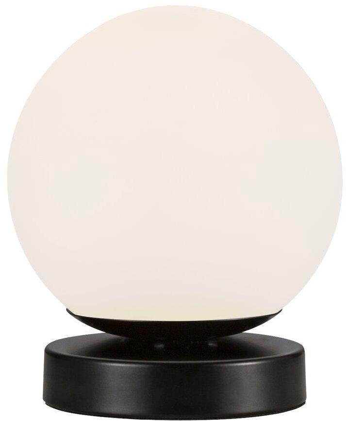Lampa stołowa Lilly 48885003 Nordlux biało-czarna oprawa w minimalistycznym stylu