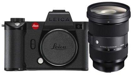 Aparat Leica SL2-S + Leica Vario-Elmarit-SL 2470 mm f/2.8 ASPH Powerbank Xtorm gratis