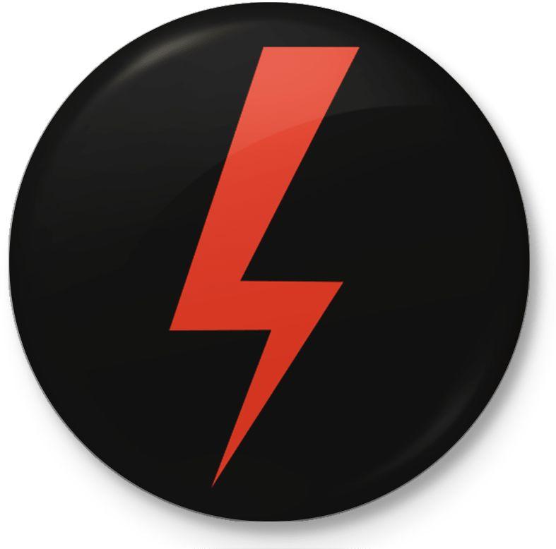 Mini button przypinka, pin Strajk Kobiet, Piekło Kobiet, Ostra Jazda
