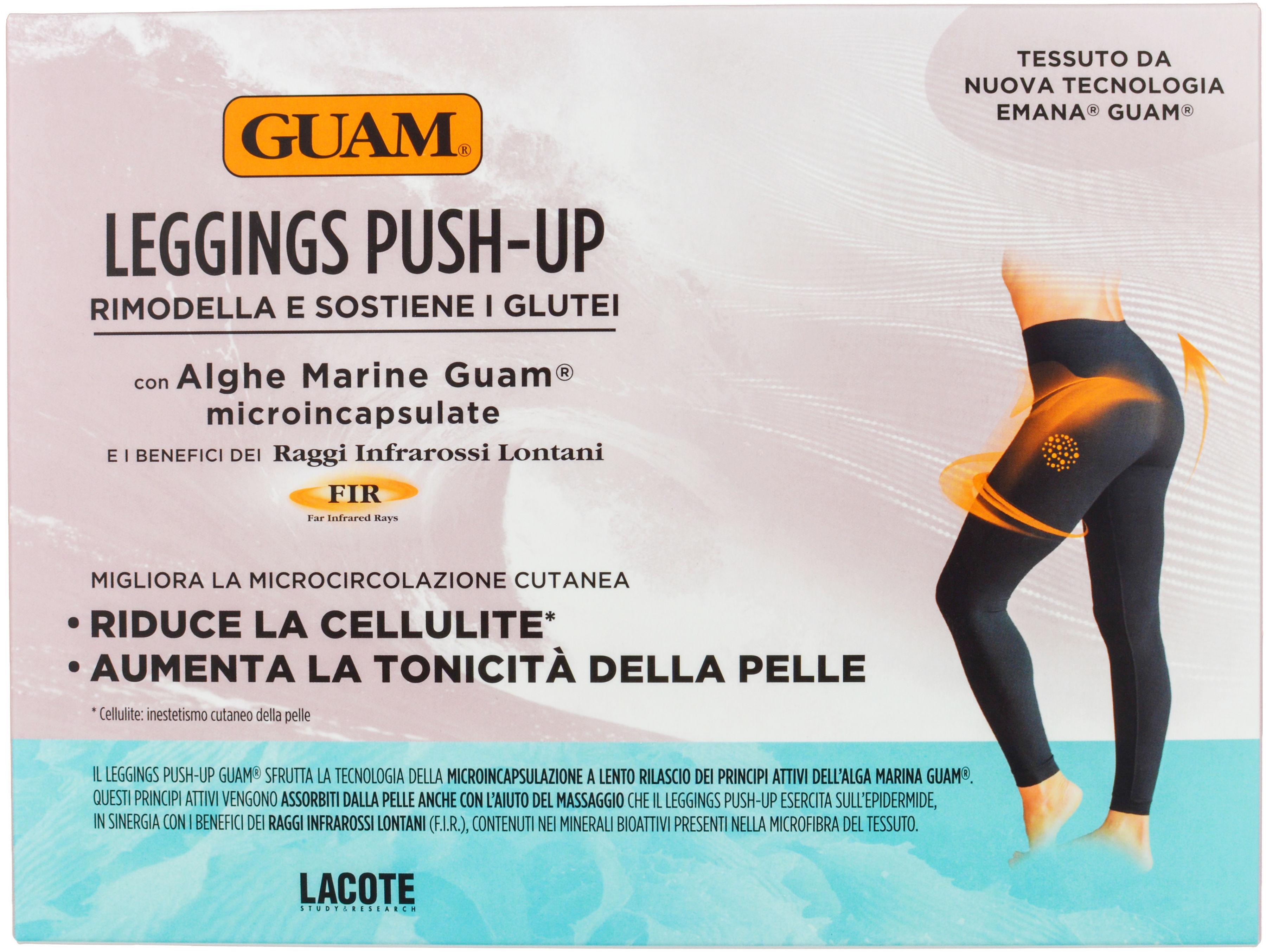 GUAM Leginsy Push-up wyszczuplające i antycellulitowe z efektem Push-up rozmiar L-XL