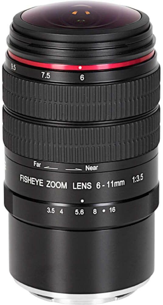 Obiektyw Meike MK-6-11mm F3.5 Nikon F APSC