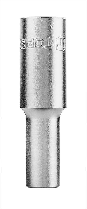 Nasadka 10mm 1/2 cala sześciokątna stal CrV długa 38D751