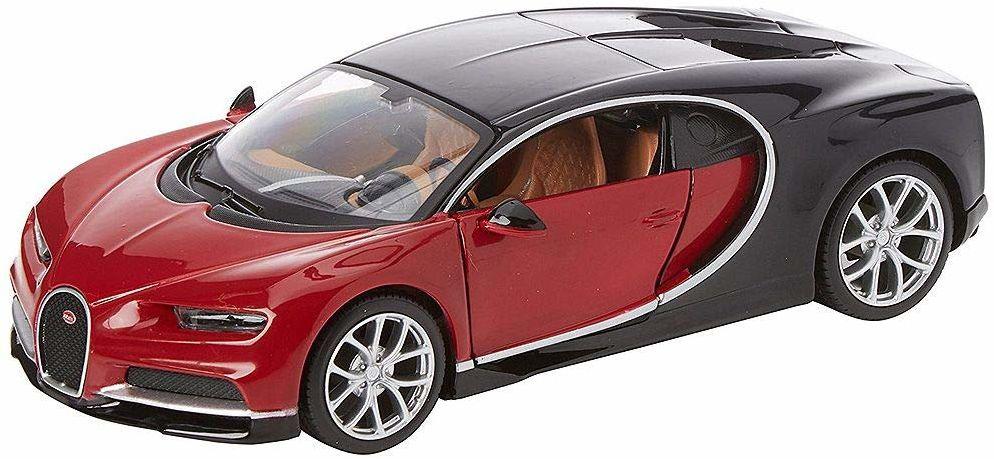 Maisto M39514 odlewany pod ciśnieniem w skali 1:24 zestaw modeli do budowy Chiron Bugatti