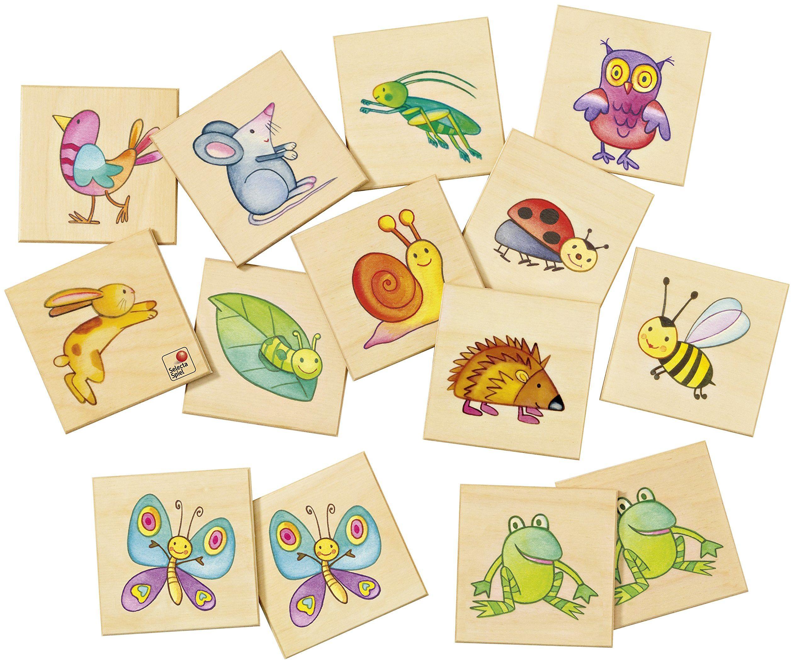 Selecta 63009 Memo Pepito i jego przyjaciele, lotto obrazkowe, 24 części