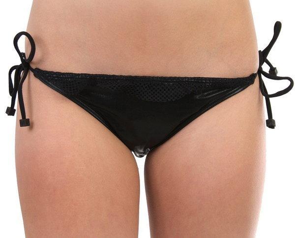 Fox SHRED SIDE TIE BLK dwuczęściowe stroje kąpielowe damskie luksusowe - XL