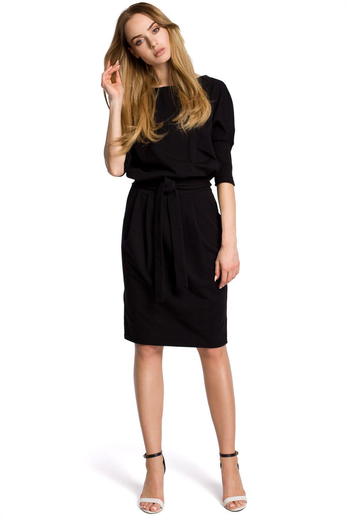 M369 Sukienka czarna